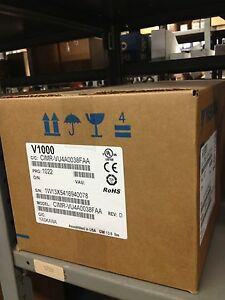 Yaskawa 25hp 38 Amps V1000 Vfd Cimr vu4a0038faa Variable Frequency Drive Nib