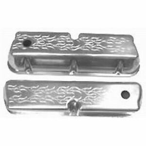 Racing Power Rpc R6173 Engine Valve Covers Aluminum Sb Ford Tall Valve Covers