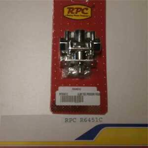 Racing Power rpc R6451c Alum Fuel Pressure Regulator 4 9psi Carb Only