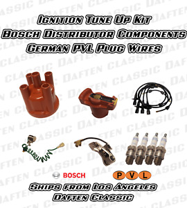 Volkswagen Vw Bug Bus Ghia Thing Super Complete Ignition Tune Up Set