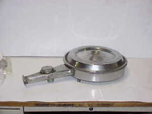 Vintage Chrome Gm Snorkel Type Air Cleaner With Ac Auto Therm Vacuum Diaphragm