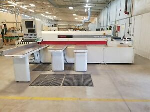 Reduced Used 1999 Scm Group Front Load Automated Panel Saw