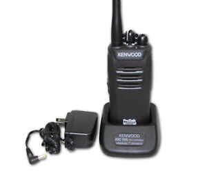 Kenwood Nx 240v16p Nexedge Protalk Digital analog Vhf Portable Radio