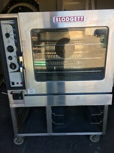 Blodgett Combi Bc14e ab Combination Oven Steamer 208v 3 Phase W stand