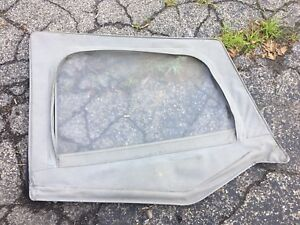 87 95 Jeep Wrangler Yj Gray Pavement Ends Softop Half Door Skin Upper Window Rh