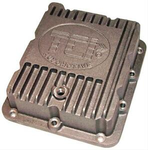 Tci Auto 518000 Automatic Transmission Pan Stock Aluminum Natural Ford C 4 Each