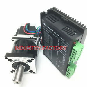 Planetary Gearbox Reducer Nema23 Stepper Motor Driver L56mm 3a 2phase Cnc Kit