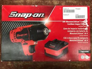 Snap on Ct8810awb 18v 3 8 Impact Wrench Battery new