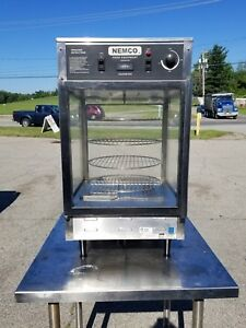 Nemco 6450 4 tiered Rotating Pizza Warmer W 13 Racks Completely Refurbished