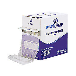 Sealed Air Ready to roll Bubble Packing Material 12in X 65ft