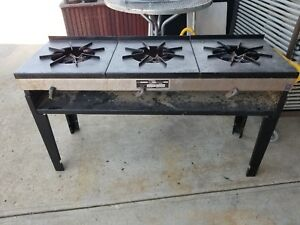Economy 3 burner Natural Gas Pot Stove