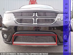 Gtg 2011 2016 Dodge Journey R T Sxt 1pc Polished Custom Bumper Billet Grille