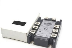 New Crouzet Ga3 12a25z 3 Phase Solid State Relay Ga312a25z