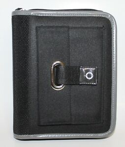 Franklin Covey Planner Organizer Binder Compact Sport 1 Black W Gray Nylon
