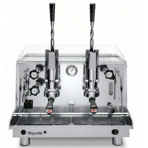 Astoria Cma Rapallo 2 Group Lever Operated Piston Espresso Machine With Gas Kit