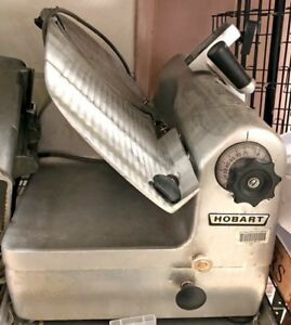 Hobart Meat And Cheese Deli Slicer Model 1712 Used And Working