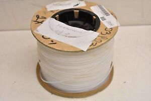 Alpha Wire Tft25018 Na005 Natural Non heat Shrinking Teflon Tubing 18awg 100ft
