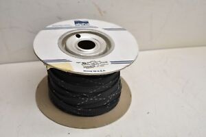 Alpha Wire Grp 120 1 2 Black Braided Polyester Sleeving 70ft Vw 1