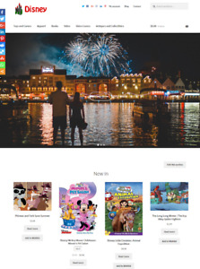 Disney Website Business For Sale Fully Stocked