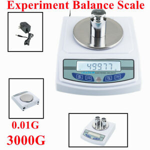 3000g 0 01g Digital Scale Lcd Electronic Kitchen Commercial School Bal