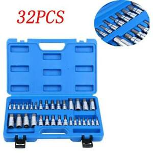 17pc Aluminium Wheel Bearing Race Seal Bush Driver Set Install Remover Tool Kit