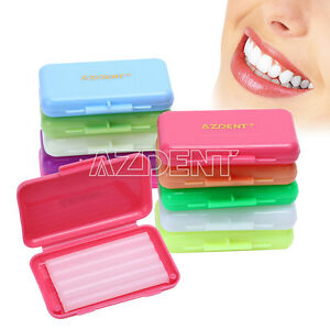 Hot Dental Orthodontics Wax For Brackets Braces Gum Irritation 6 Scents Flavors