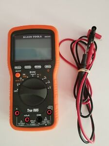 Klein Tools Mm 2000 True Rms Electrician Hvac Multimeter No Leads