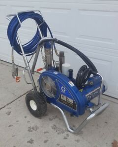 Graco Gh200 Convertible Hydraulic Airless Paint Sprayer electric