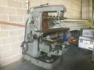 Milling Machine Horizontal
