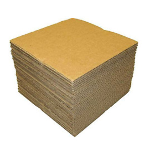 200 Lp Record Mailer Inserts 7 5 X 7 5 Filler Pads Albums 45 Rpm Cardboard New