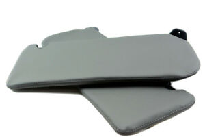 Sunvisor Leather Synthetic Covers For Chevrolet Tahoe Suburban 95 99 Gray