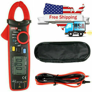 Uni t Ut210e Portable Ac dc Current Lcd Digital Clamp Meter W capacitance Z7f2