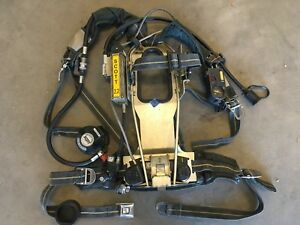 Scott 2 2 Ap50 Scba W Hud Integrated Pass Rit Uac Buddy Breathing Ebss a