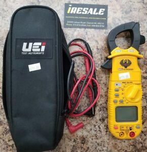 nob Uei Vei Dl389 G2 Phoenix Pro Plus Clamp Meter Cat W Carrying Case