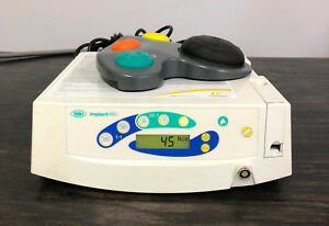 W h Implant Med Dental Console With Footswitch