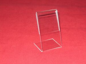 50 Vertical Display Stand Holder Signs Info Place Business Cards 3 5 t X 2 w