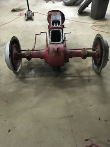 Ford 9n Tractor Rear End Transmission Hydraulic Pump Pto And More