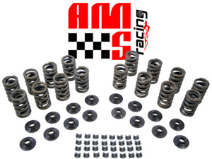 Chevy Sbc 283 327 350 400 Z28 Valve Springs Kit Steel Retainers