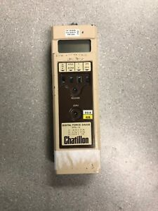 Chatillon Dfg 10 Digital Force Gauge