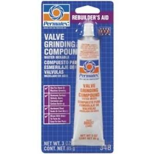 Valve Grinding Compound 3 Ounce Tube Boxed Case Of 12 Tubes Ptx80037 New