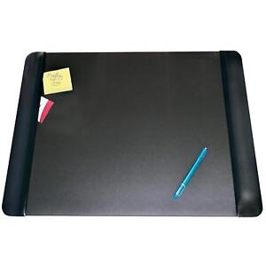 Artistic 19 X 24 Antimicrobial Executive Desk Pad With Microban Black