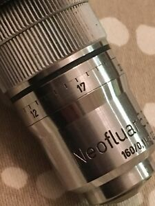 Carl Zeiss Neofluar 63 0 90 63x Microscope Objective With Correction Ring