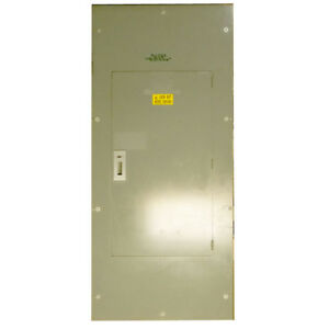 Square D Main Circuit Breaker Panel 400a 3ph Hcm2373 4m Map36600 600a Sl800