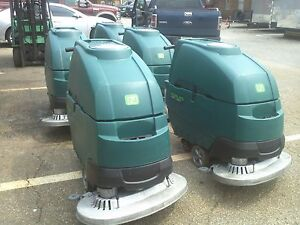 One Reconditioned Nobles Ss5 Floor Scrubber 32 inch Under 500hr