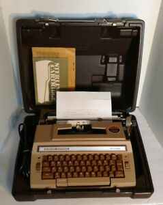 Vintage Smith corona 3l Sterling Cartridge Electric Typewriter Machine W Case