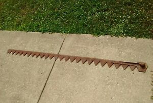 Vintage Allis chalmers Tractor No 5 Power Mower Sickle Bar Knife Head