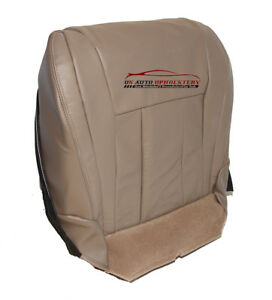 Driver Side Bottom Replacement Leather Seat Cover Tan For 1999 Toyota 4 Runner