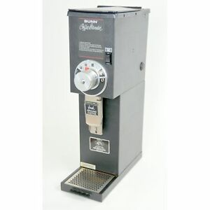 Bunn G2 Hd 2 Lb Black Bulk Retail Shop Coffee Grinder 22102 0000 120v