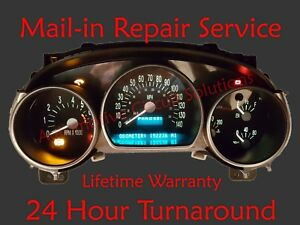 Chevy Ssr Speedometer Instrument Cluster Gauge And Display Repair Led Upgrade
