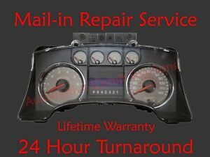 2009 Ford F150 Speedometer Instrument Dash Cluster Repair Service